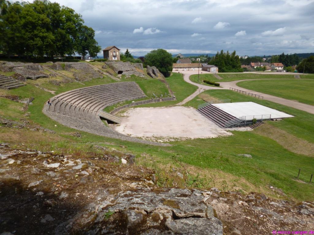 Das größte römische Amphitheater im damaligen Gallien