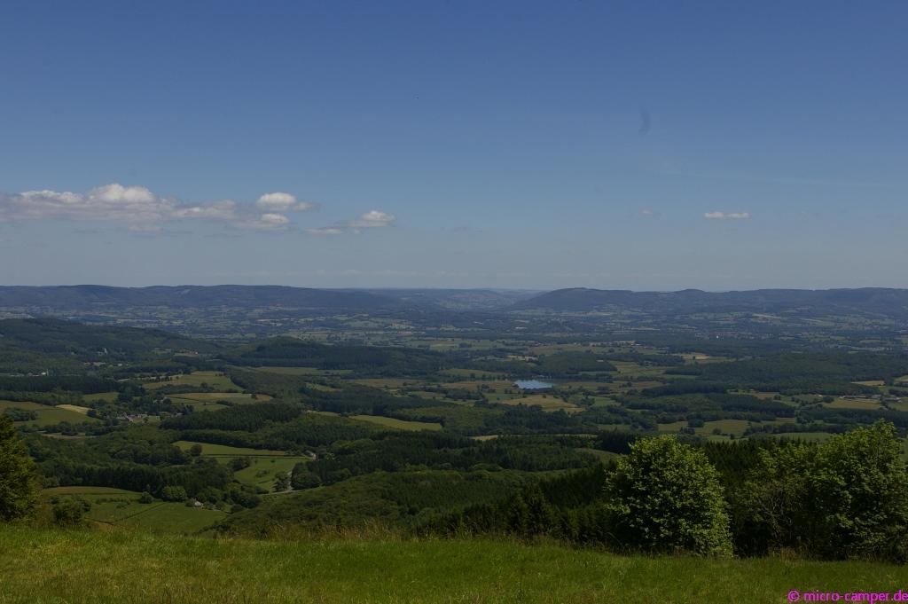 Hohe Berge mit viel Aussicht, so hatten es die Kelten am liebsten