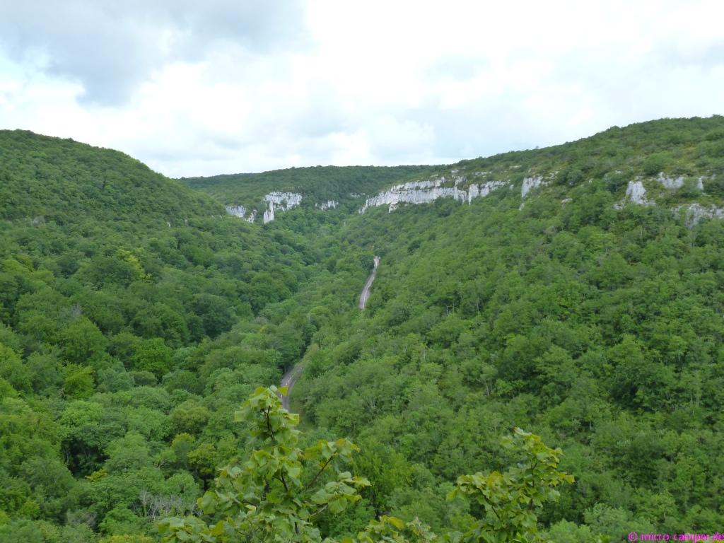 Die Schlucht von Lavaux ist ein Naturschutzgebiet